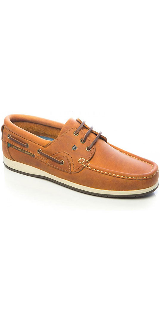 2019 Dubarry Commodore x LT Deck Shoes Whiskey 3723