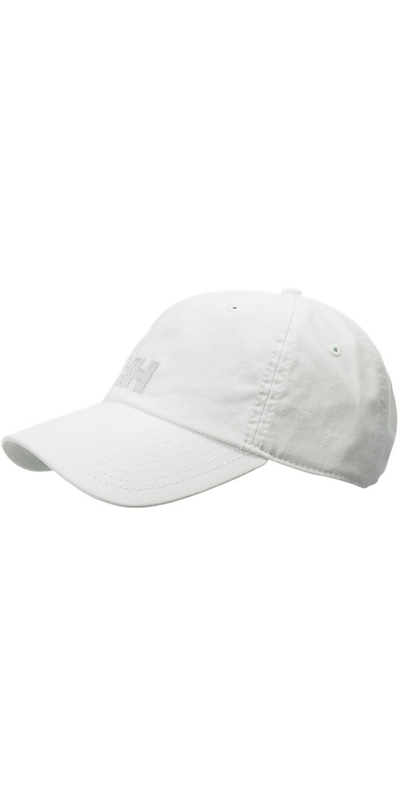 2019 Helly Hansen Logo Cap White 38791