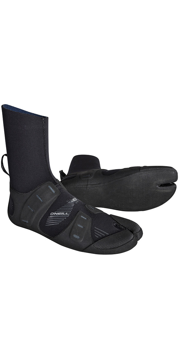 2019 O'Neill Mutant 6/5/4mm Internal Split Toe Boots Black / Graphite 4794