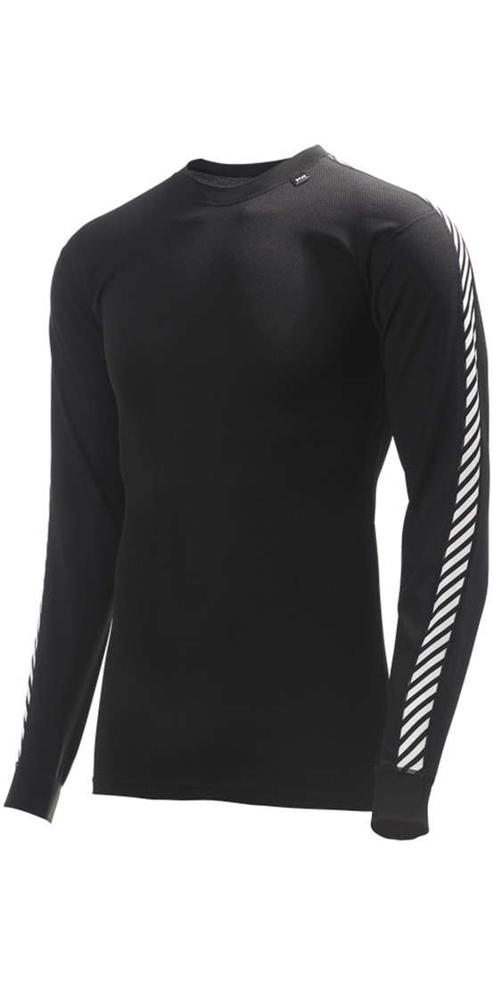 7c010efb48f 2019 Helly Hansen Lifa Stripe Crew Neck Base Layer Ls Top Black 48800 -  Thermal Base Layer - | Wetsuit Outlet