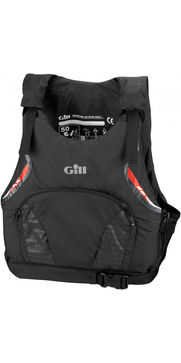 Gill Pro Racer MENS 50N Buoyancy Aid Graphite 4916