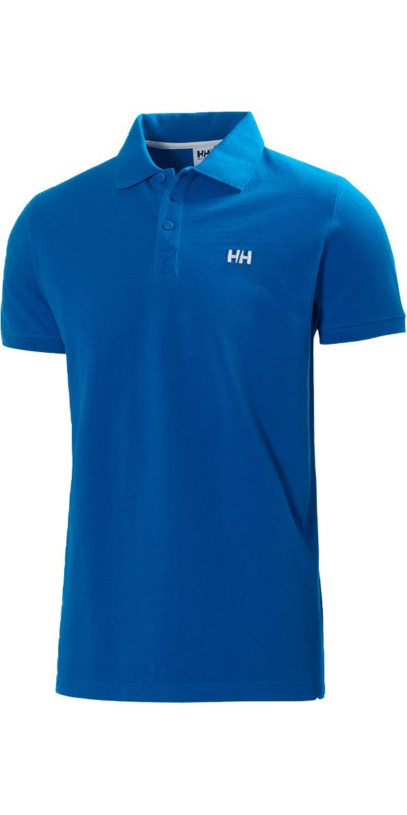 Helly hansen transat polo shirt cobalt blue 50583 50583 for Cobalt blue polo shirt
