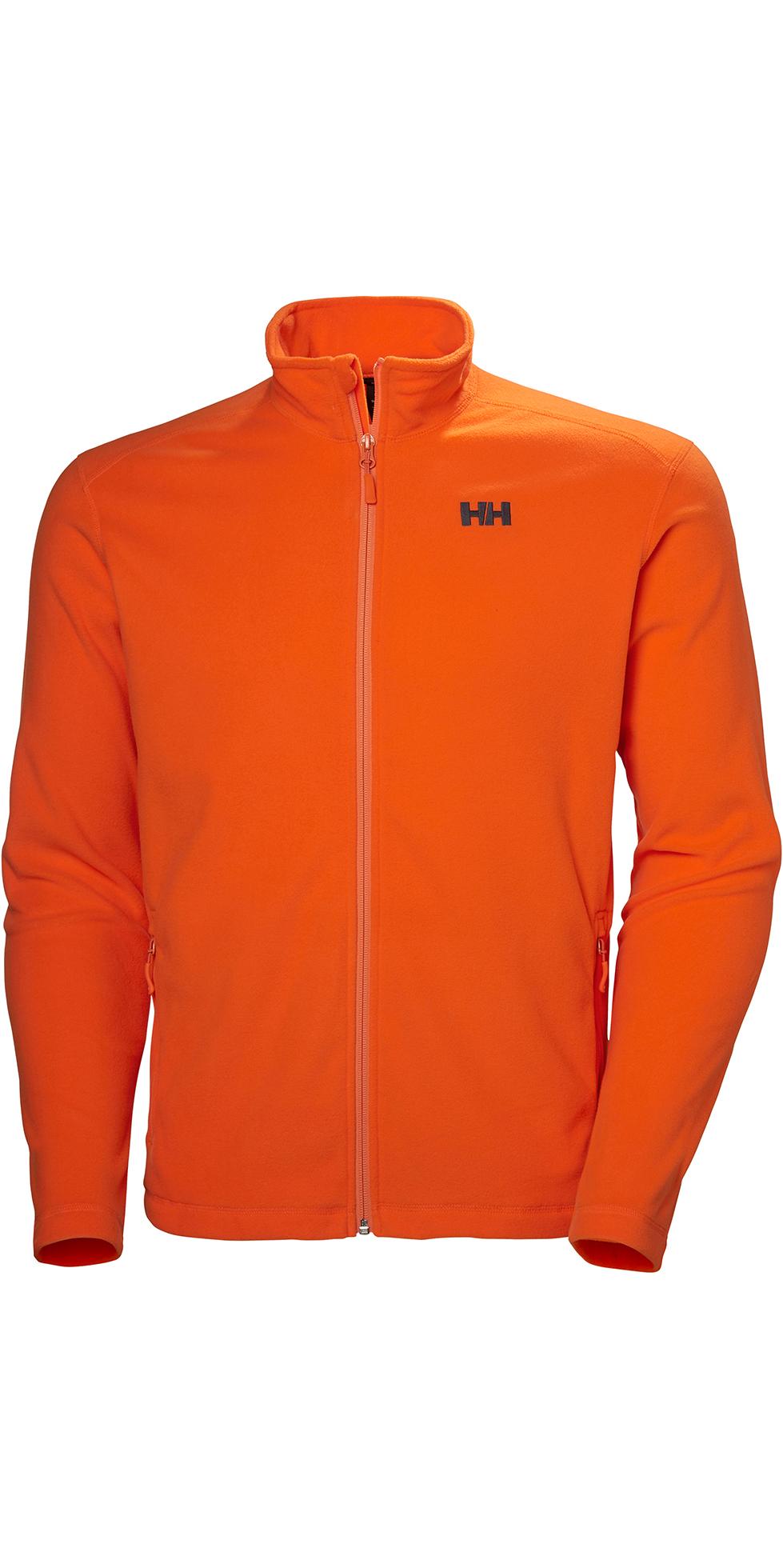officiell leverantör känt märke äkta kvalitet 2019 Helly Hansen Mens Daybreak Fleece Jacket Bright Orange 51598 ...