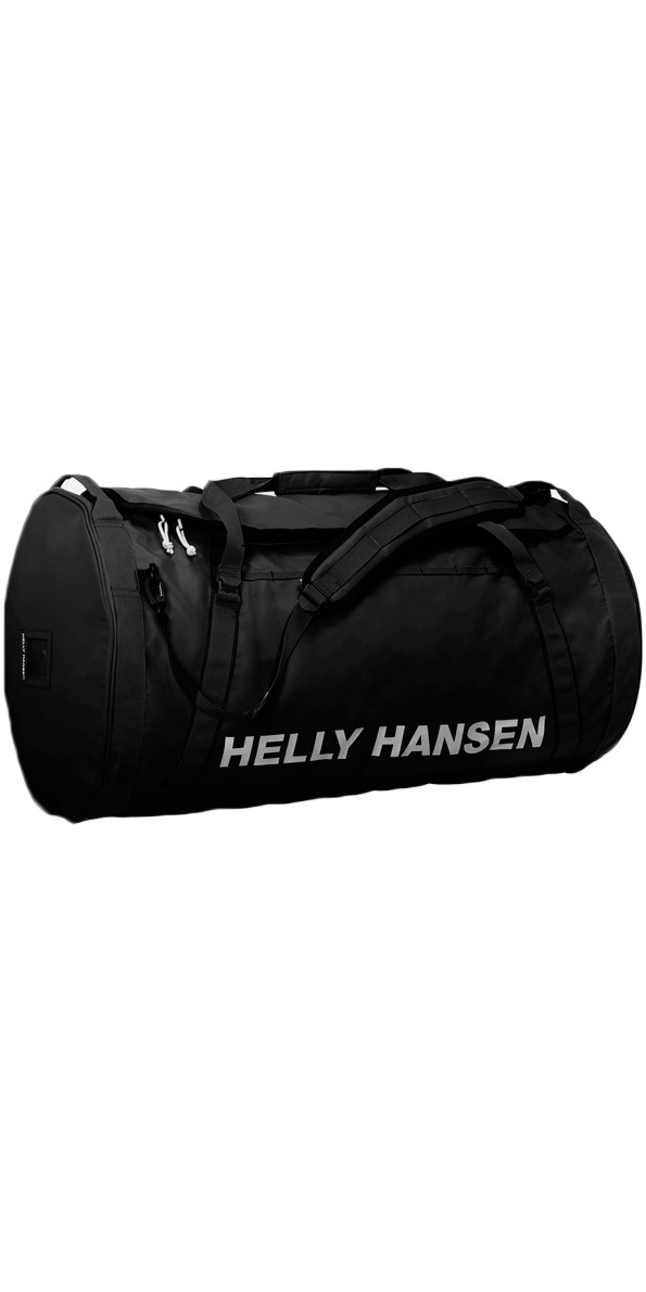 05319c21fd 2019 Helly Hansen 90L Duffel Bag 2 Black 68003 - Holdall - Luggage Dry Bags  - by Helly Hansen | Wetsuit Outlet