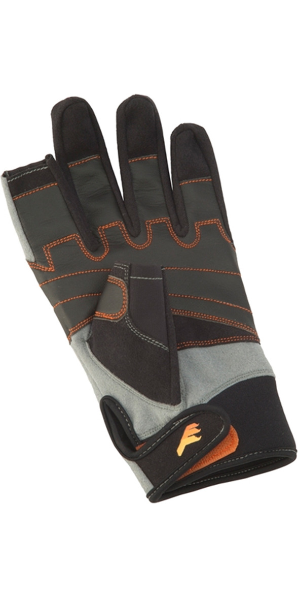 Crewsaver Phase 2 JUNIOR 3 Finger Glove Black / Grey 6927