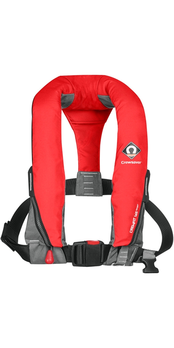 2020 Crewsaver Crewfit 165N Sport Manual Lifejacket - Red 9010RM