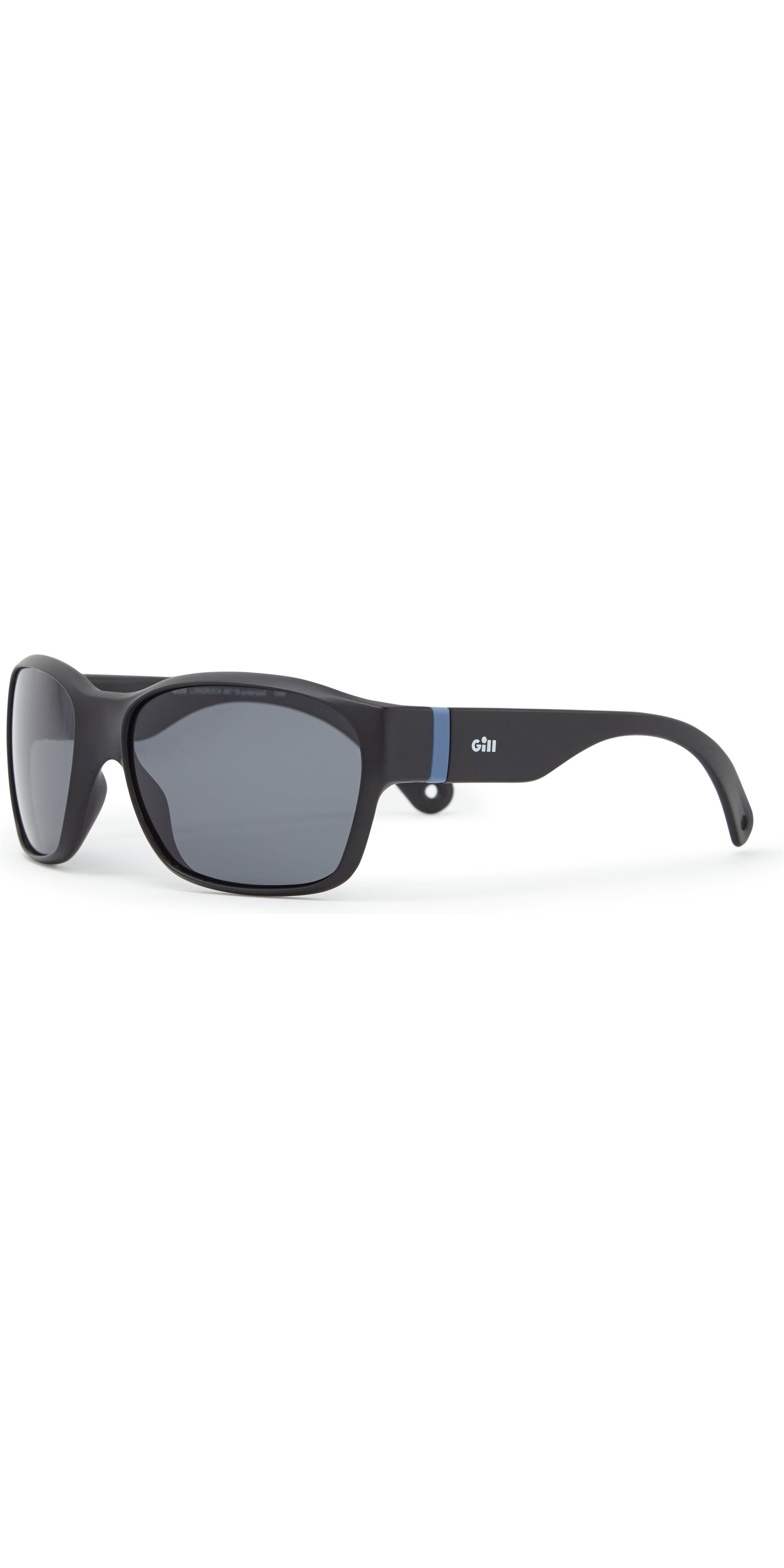 2019 Gill Junior Longrock Sunglasses Black / Smoke 9671