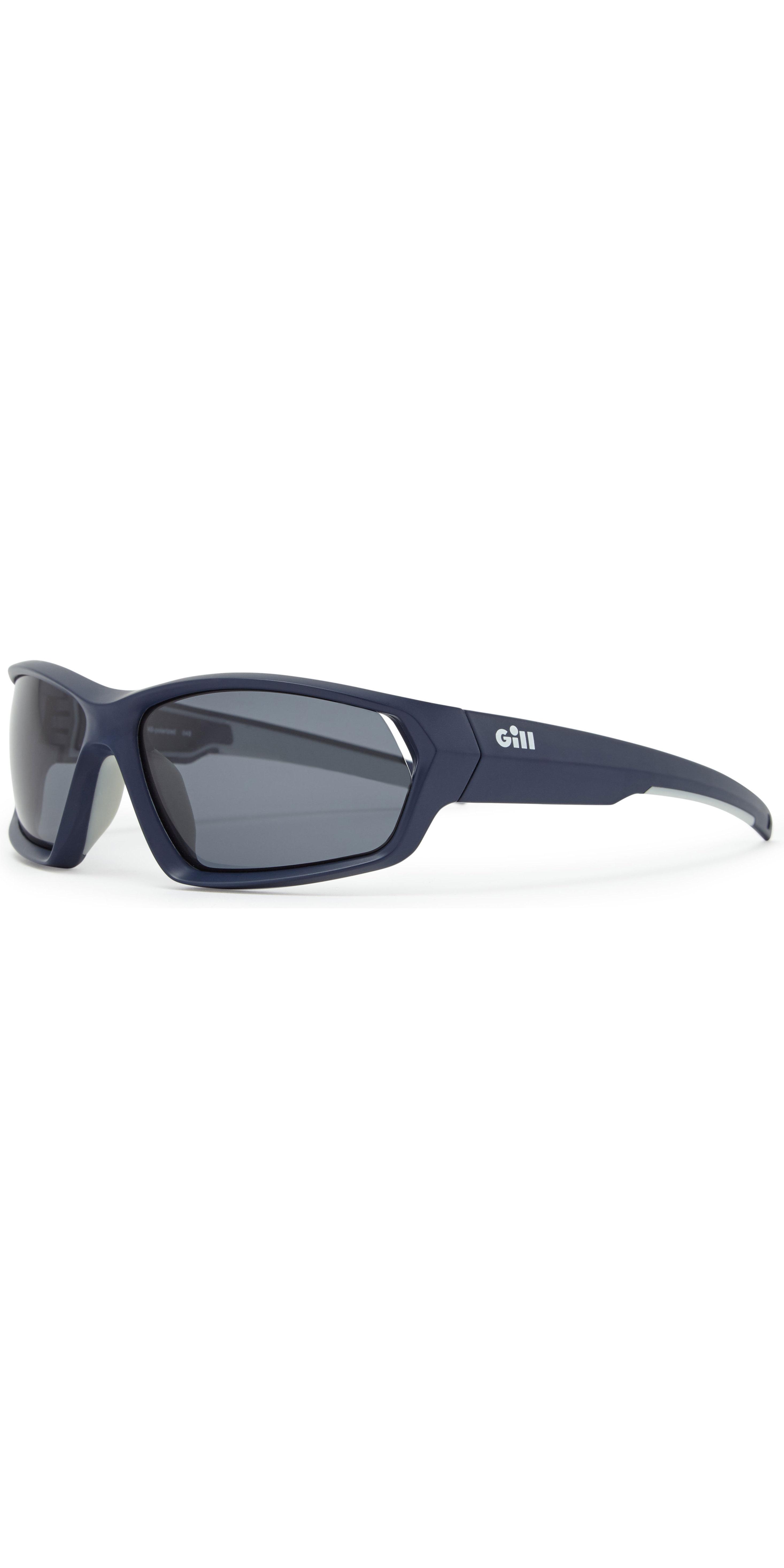 2019 Gill Marker Sunglasses Blue / Smoke 9674