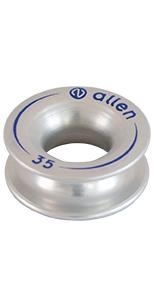 Allen Brothers Aluminium Thimble Silver A87
