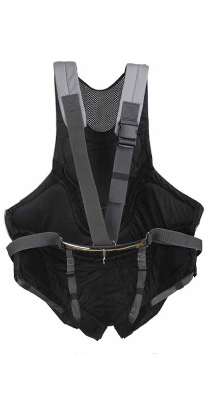 2014 Musto Adjustable Harness in Black / Silver AS0640