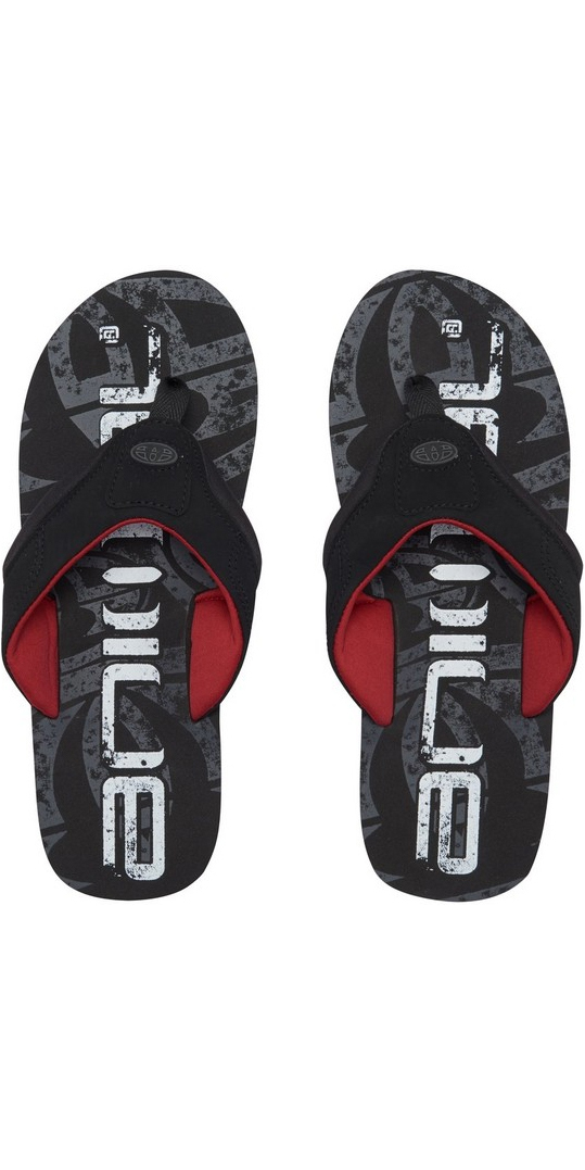 2018 Animal Jekyl Logo Mens Flip Flops Rich Red FM8SN002