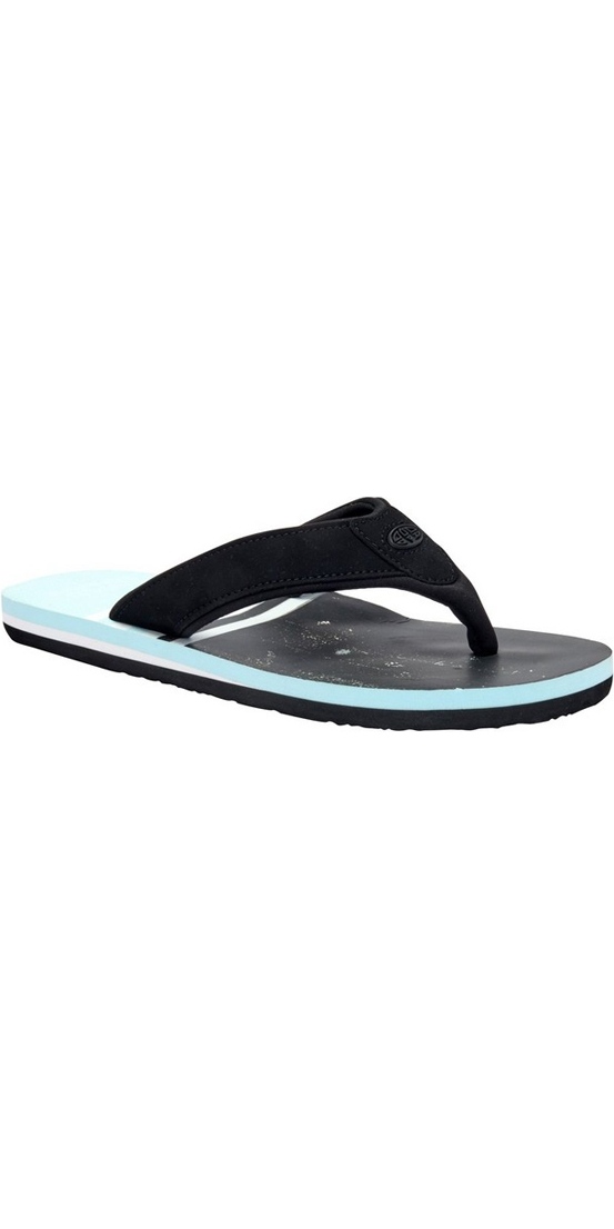 2018 Animal Jekyl Swim Mens Flip Flops Clearwater Blue FM8SN004