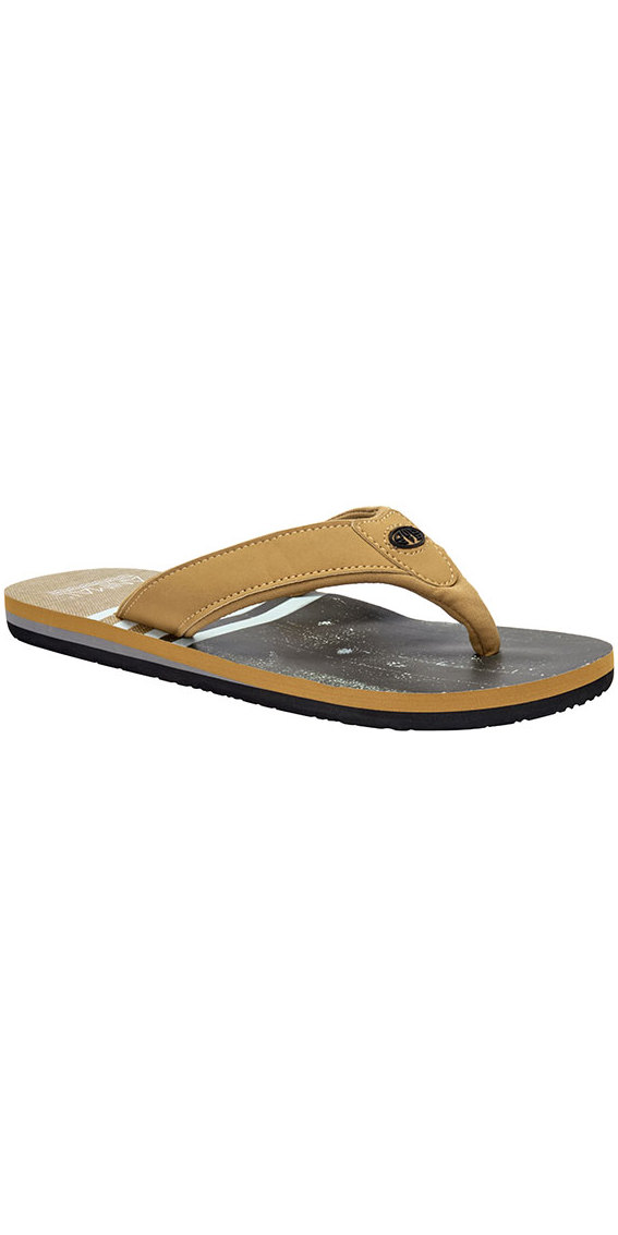 2018 Animal Jekyl Swim Mens Flip Flops Patina Brown FM8SN004