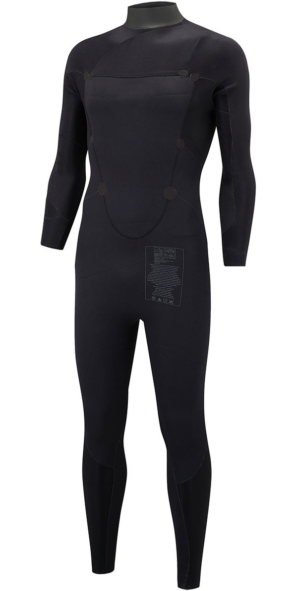 2018 Animal Lava 3/2mm GBS Chest Zip Wetsuit Graphite Grey AW8SN100