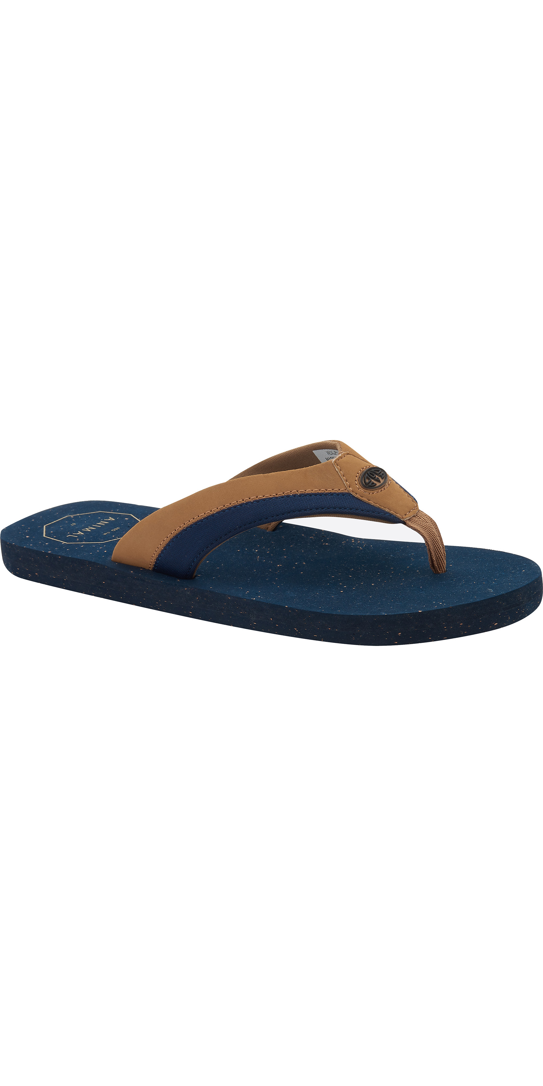 a1d1f2348 2019 Animal Mens Huxley Flip Flops Dark Navy Fm9sq012 - Flip Flops ...