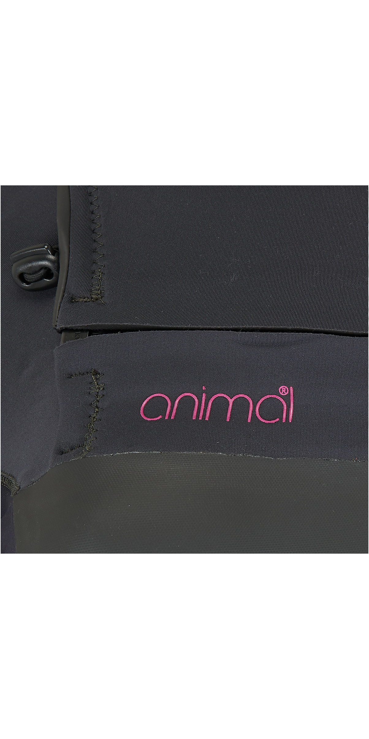 2019 Animal Womens Lava 4/3mm GBS Chest Zip Wetsuit Black AW9SQ300