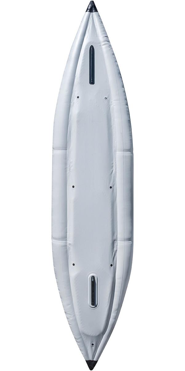 2019 Aquaglide Chelan 155 HB XL 3 Man High Pressure Inflatable Kayak Blue - Kayak Only AGCHE3