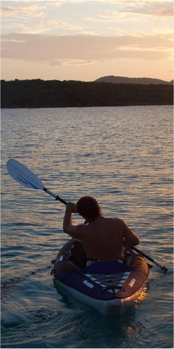 2019 Aquaglide Columbia 1 Man Touring Kayak Blue - Kayak Only