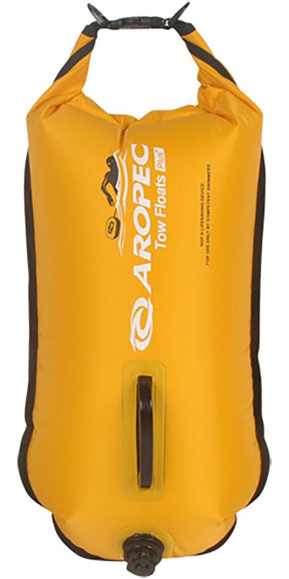 2019 Aropec Followers Double Tow Float /  28L Dry Bag Yellow RFDJ02