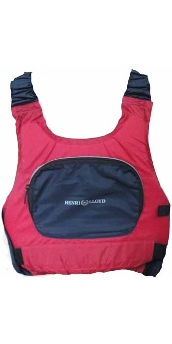 Henri Lloyd Asymmetric Buoyancy Aid 50570 in RED/NAVY 50N - LAST ONE