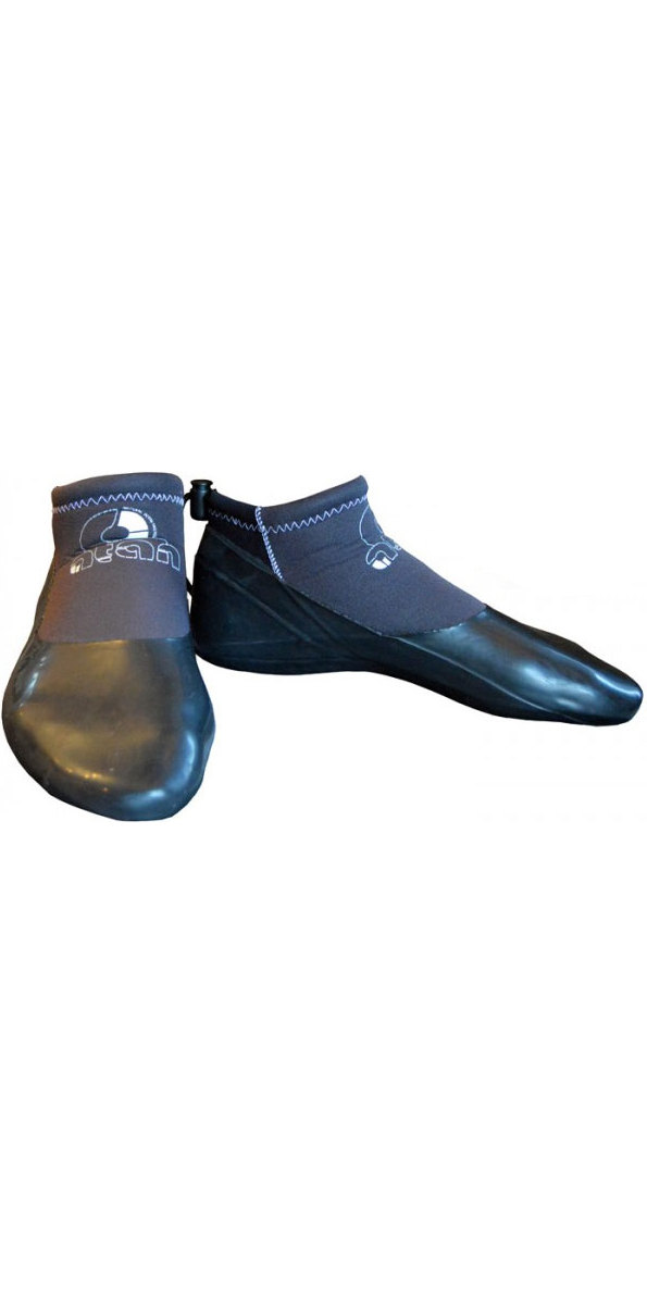 2018 Atan Reef Kevlar 3mm GBS Wetsuit Shoes Black