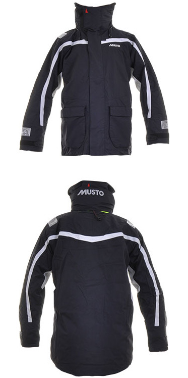 Musto BR1 Channel Jacket SB1293 BLACK/PLATINUM