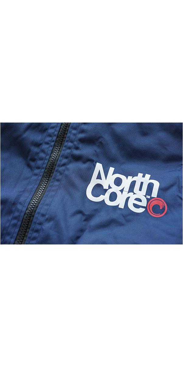 2019 Northcore Beach Basha Pro 4 Season Changing Robe / PonchoBlue NOCO24J