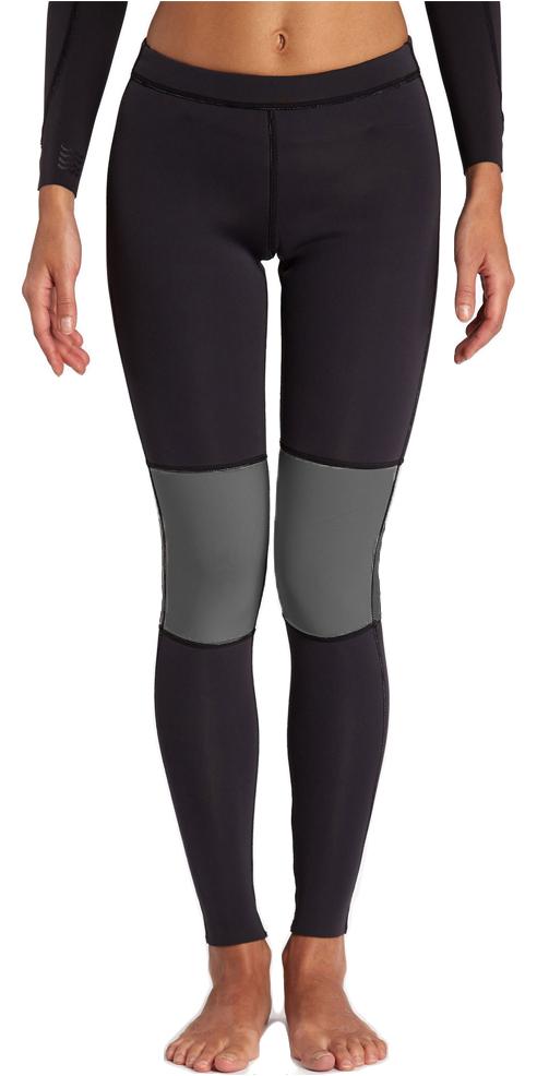 Billabong Womens Skinny 1mm Neoprene Sea Legs BLACK H41G07