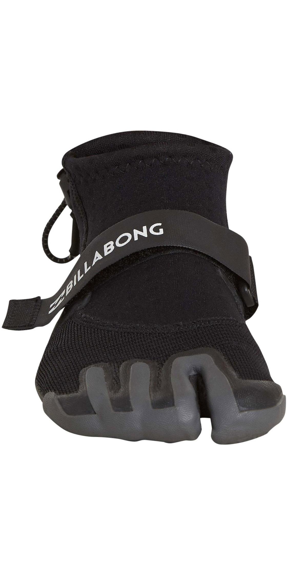 2019 Billabong 2mm Pro Reef Boots Black H4BT03