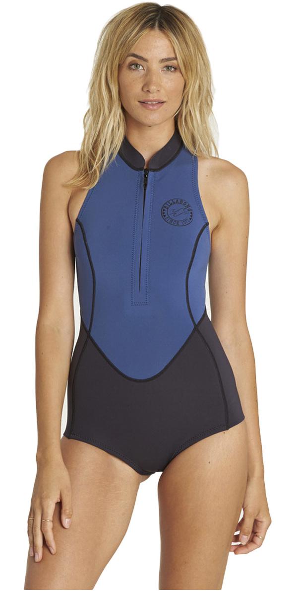 2ce294e321 2018 Billabong Womens 1mm Sleeveless Front Zip Spring Wetsuit Seaside  H41g05 - H41g05 - Womens