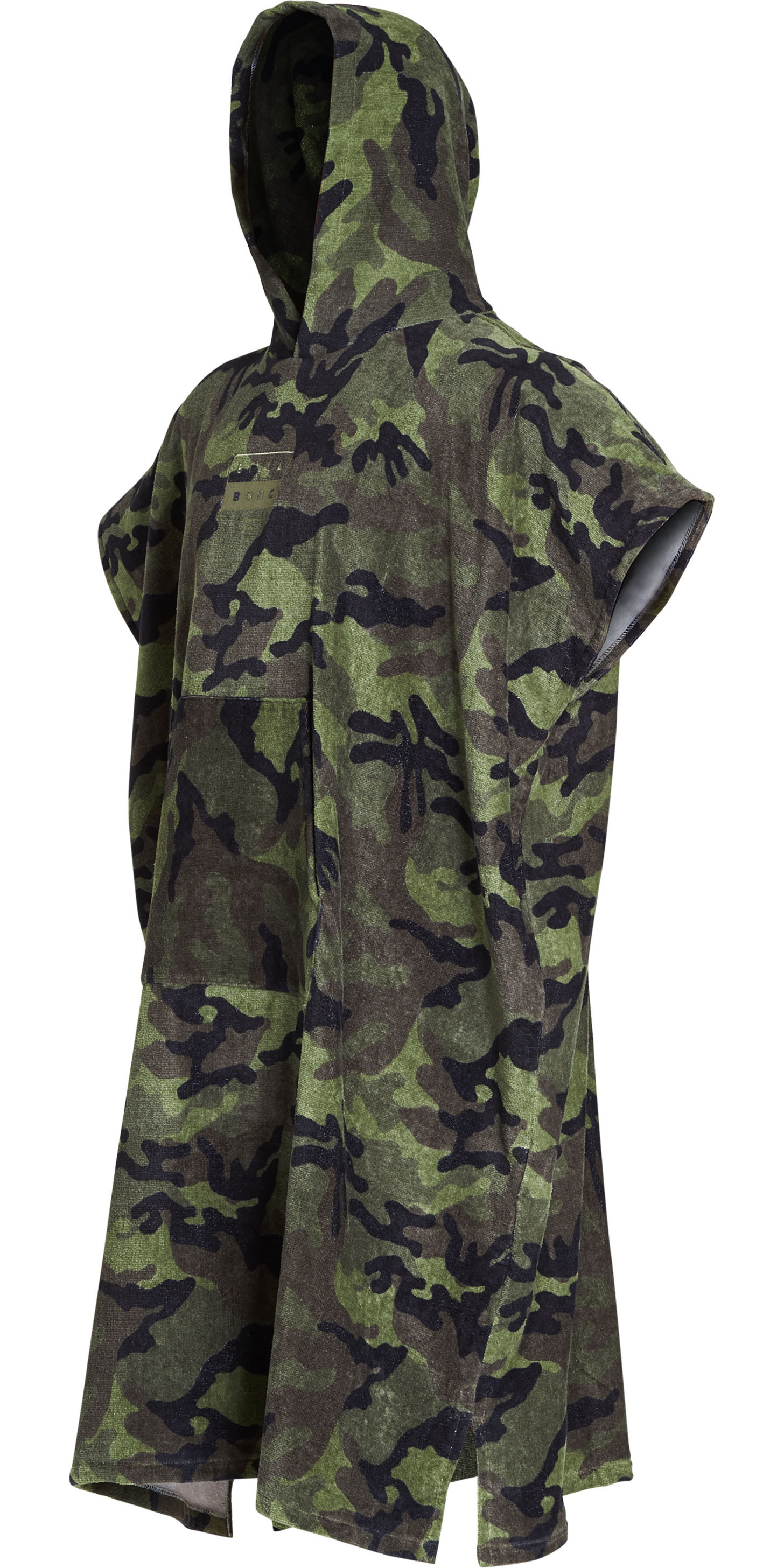 2019 Billabong Mens Hooded Changing Robe / Poncho Camo N4BR01