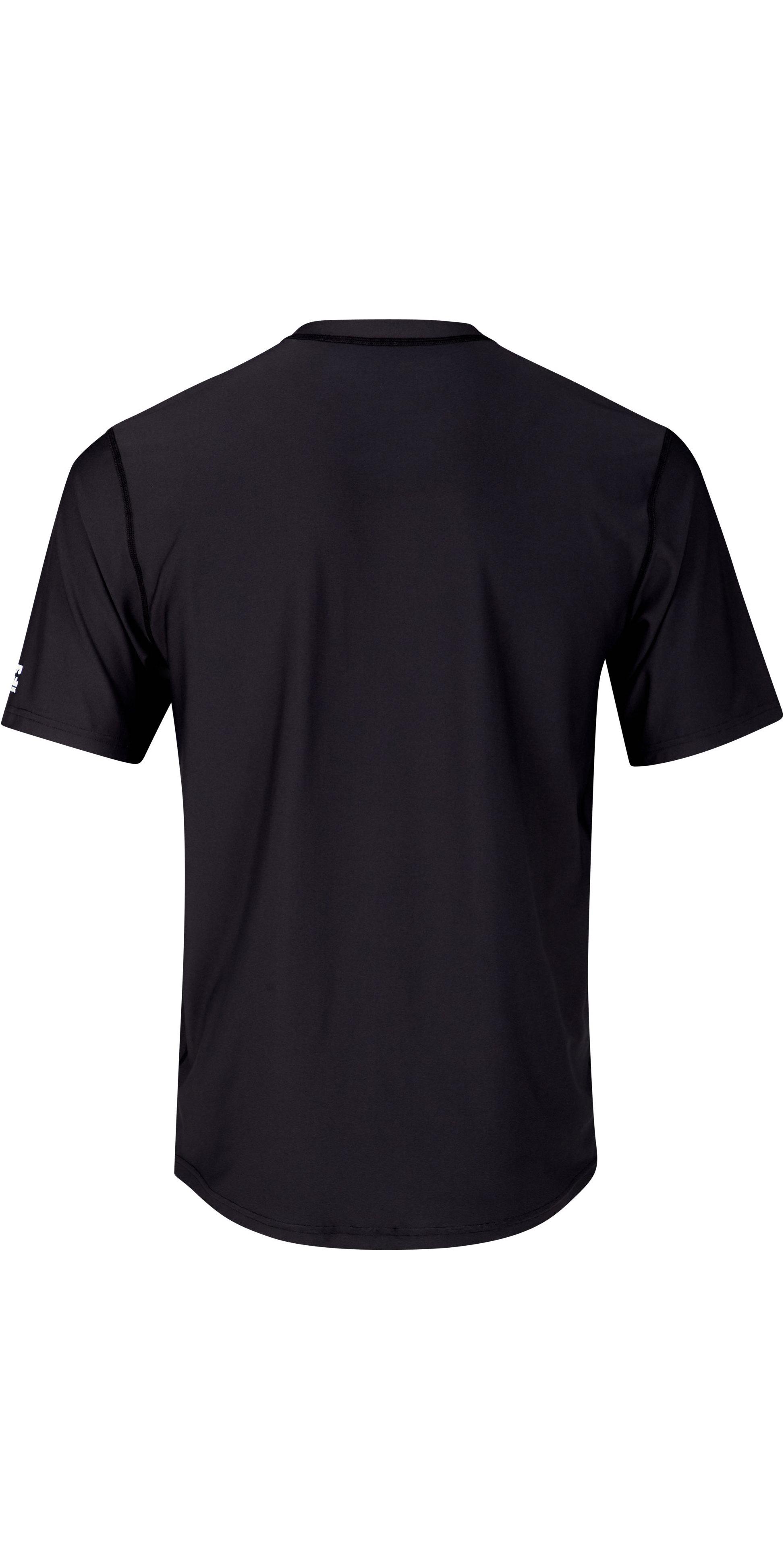 2019 Billabong Mens Rotated Short Sleeve Rash Vest Black N4MY10