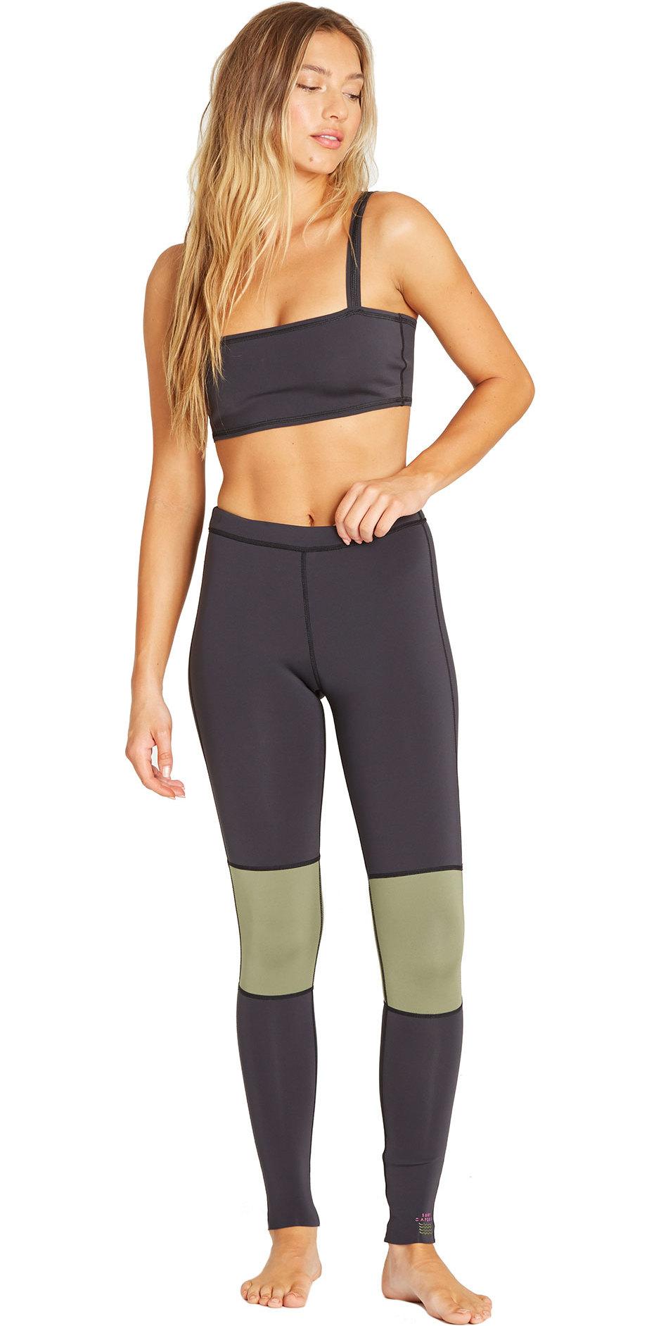f0c8de8e806ba 2019 Billabong Womens 1mm Neoprene Sea Legs Black Olive N41g03 - Wetsuit  Trousers - Rash | Wetsuit Outlet