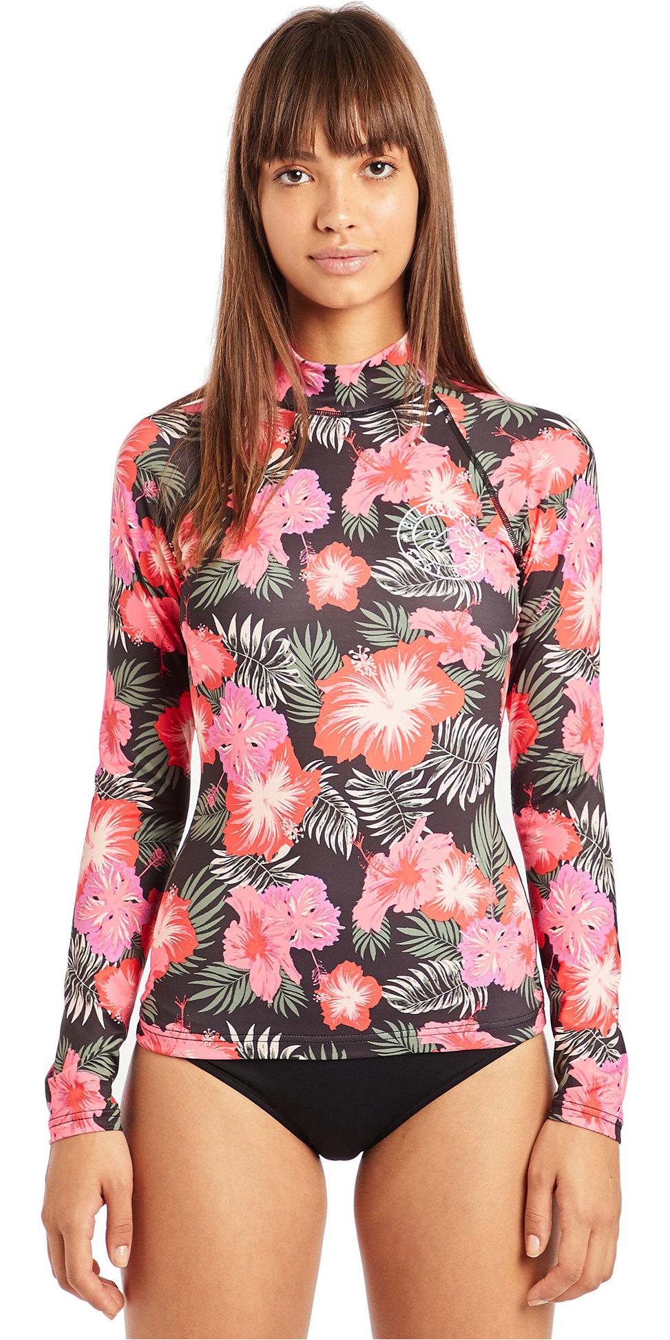925c3c0f7cd 2019 Billabong Womens Flower Long Sleeve Rash Vest Hawaii N4gy04 - Long  Sleeve Rash Vests - | Wetsuit Outlet
