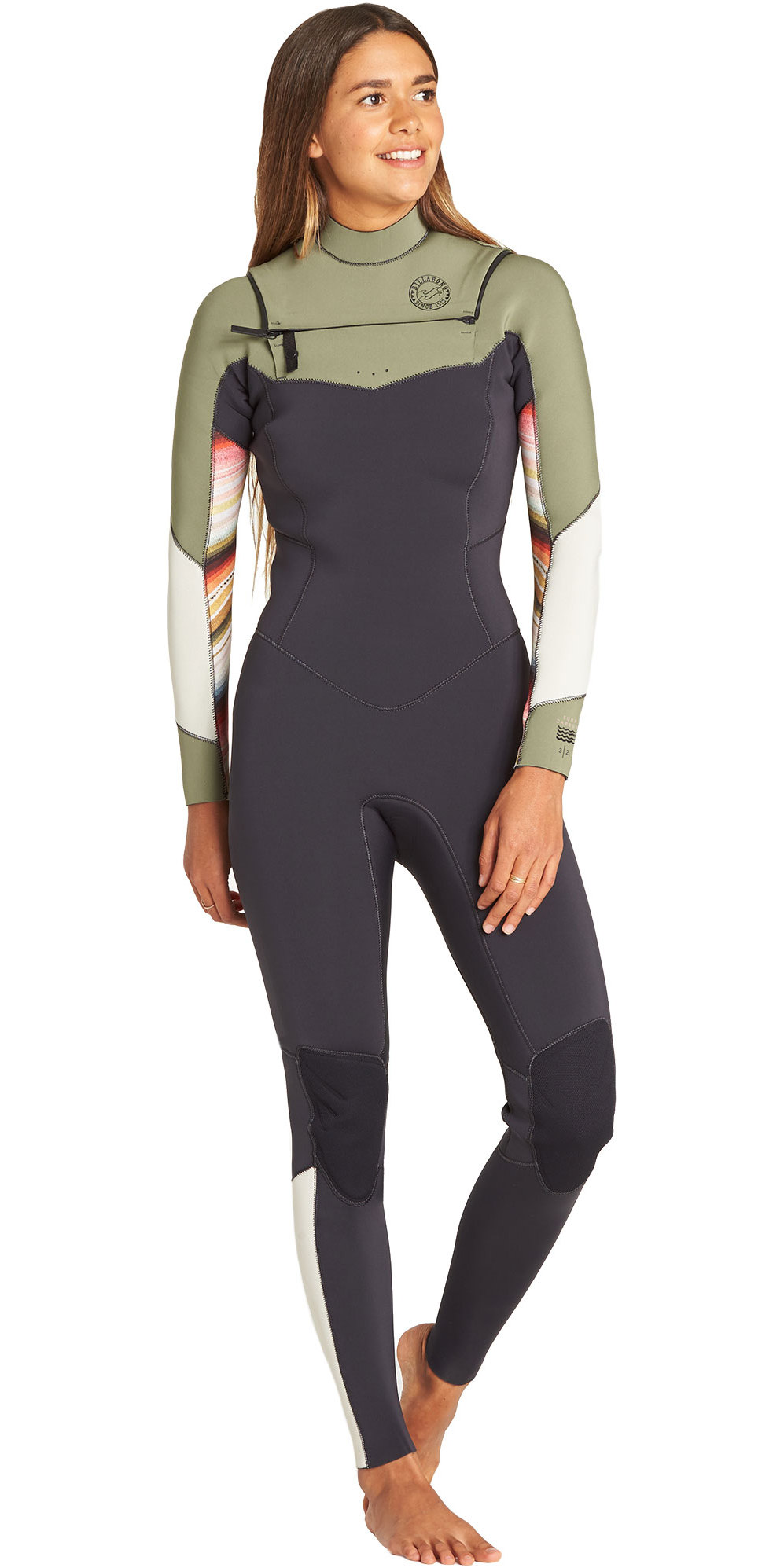 7a8d117f41 2019 Billabong Womens Salty Dayz 3 2mm Chest Zip Wetsuit Serape N43g30 -  N43g30 - Womens - 3mm Wetsuits