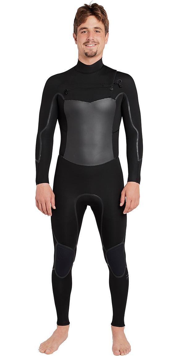 2018 Billabong Furnace Absolute X 5/4mm Chest Zip Wetsuit Black L45M07