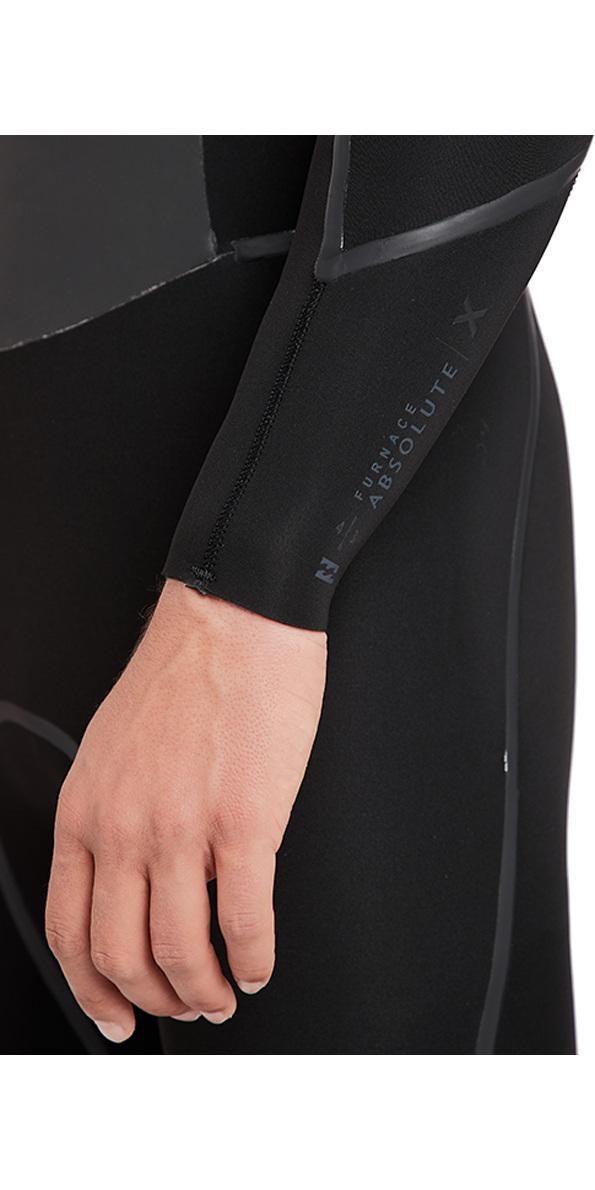 2018 Billabong Furnace Absolute X 4/3mm Chest Zip Wetsuit Black L44M07