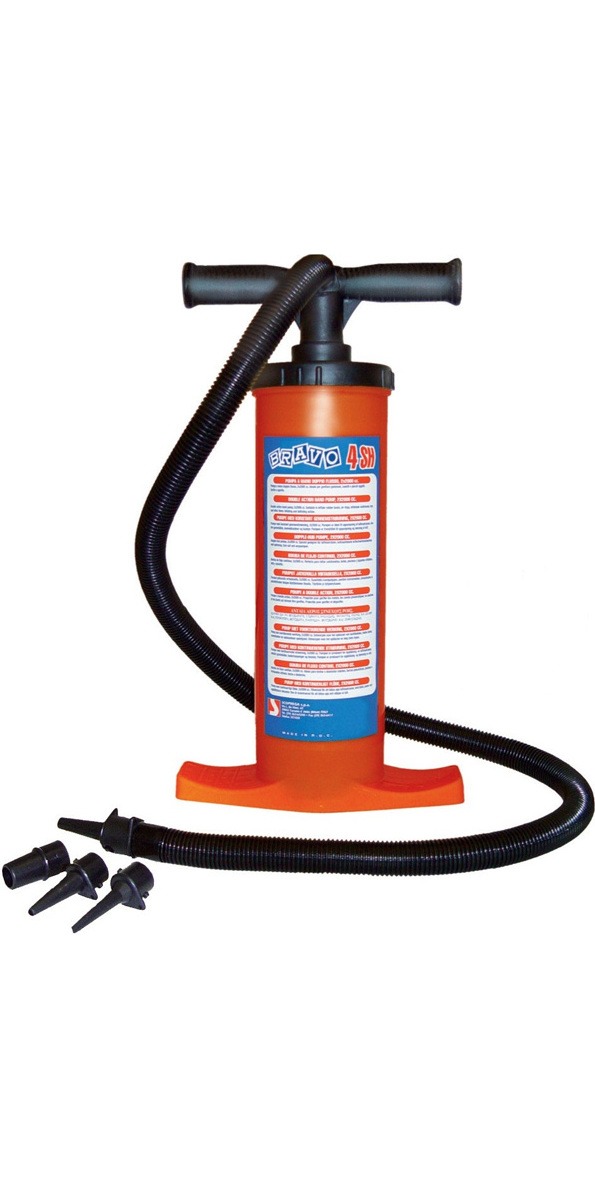 Bravo Double Action Kayak / Inflatable Stirrup Pump
