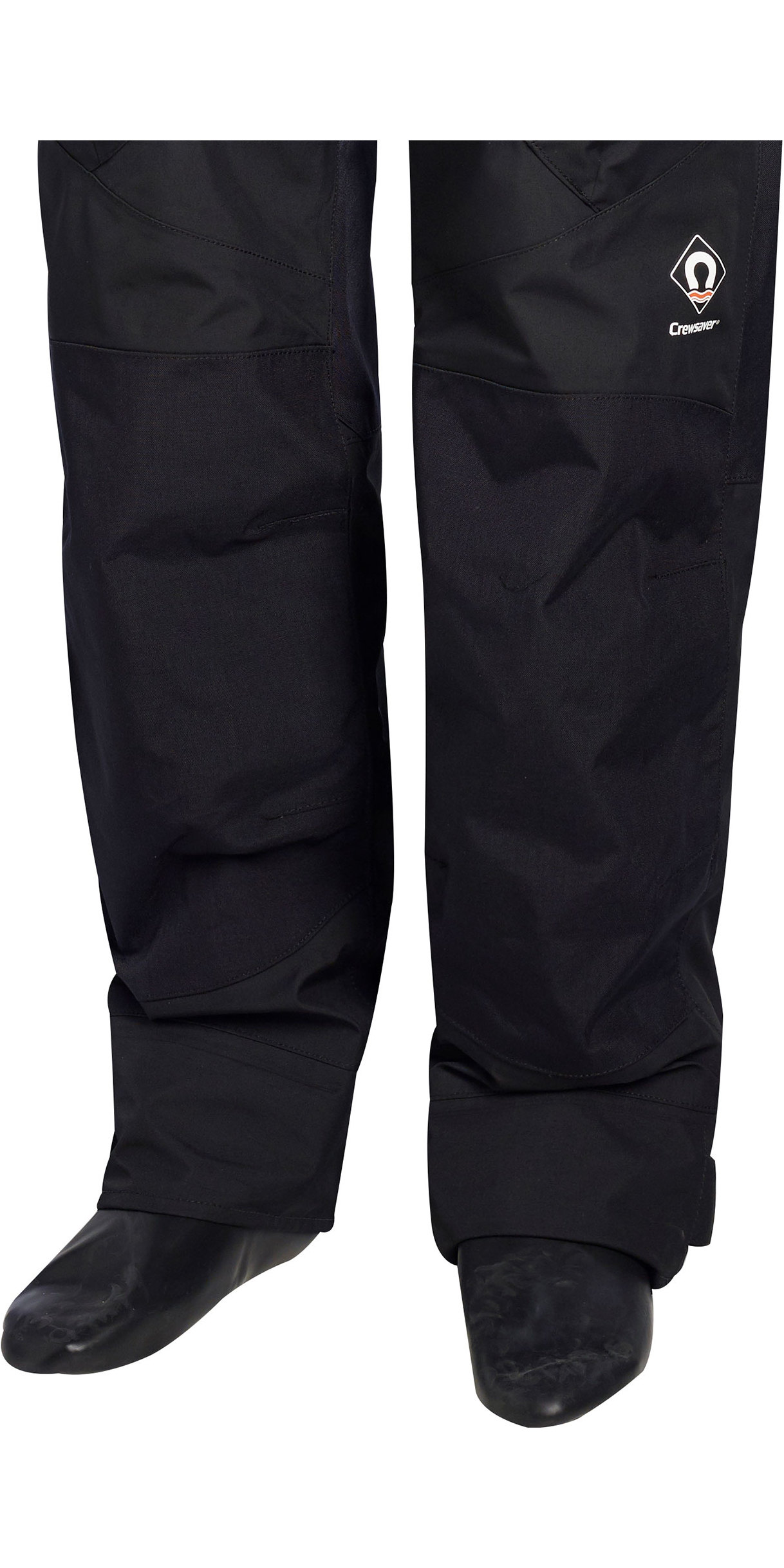 2020 Crewsaver Junior Atacama Pro Drysuit INCLUDING UNDERSUIT BLACK 6556J