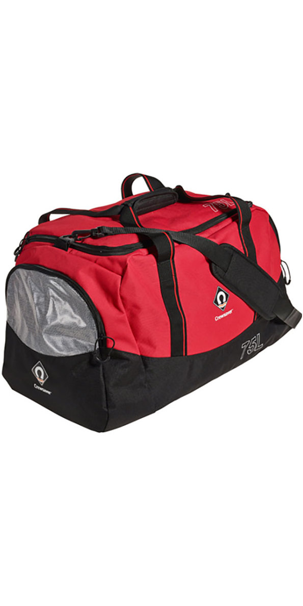 2020 Crewsaver Heavy Duty Crew Holdall 75L Red 6961-75