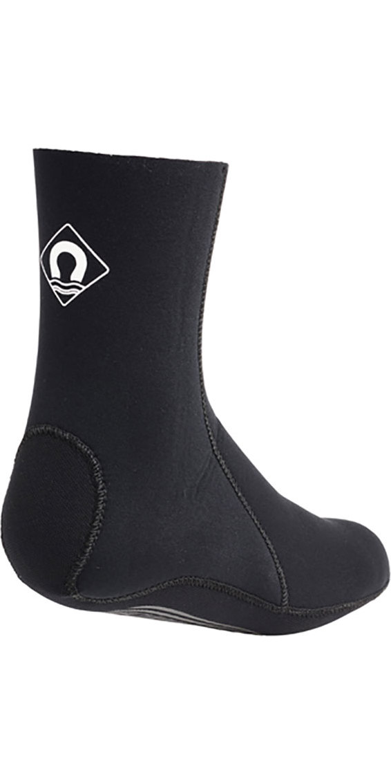 2019 Crewsaver Slate 3mm neoprene wetsuit Sock - BLACK 6946