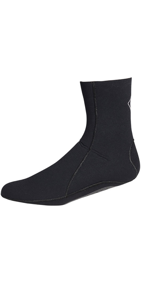 2018 Crewsaver Junior Slate 3mm neoprene wetsuit Sock - BLACK 6946