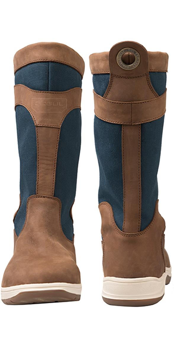 2018 Gul Fastnet Deck Boots Tan / Navy DS1005
