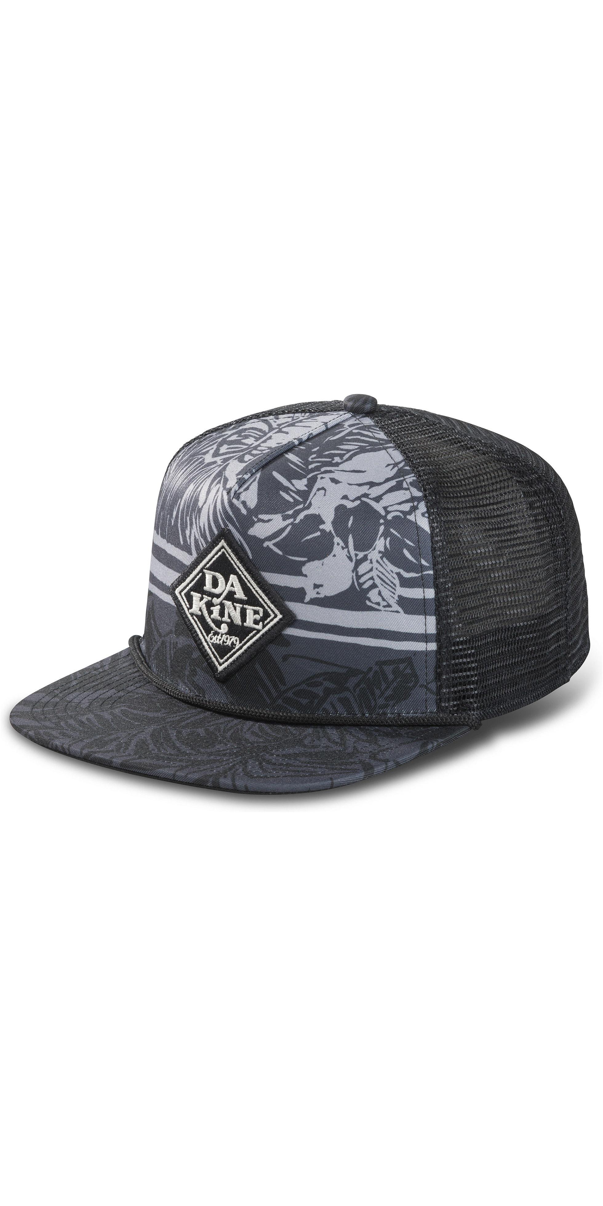 eacaf386615c5 2019 Dakine Classic Diamond Trucker Cap Black 10002462 - Accessories - Mens  - Clothing | Wetsuit Outlet