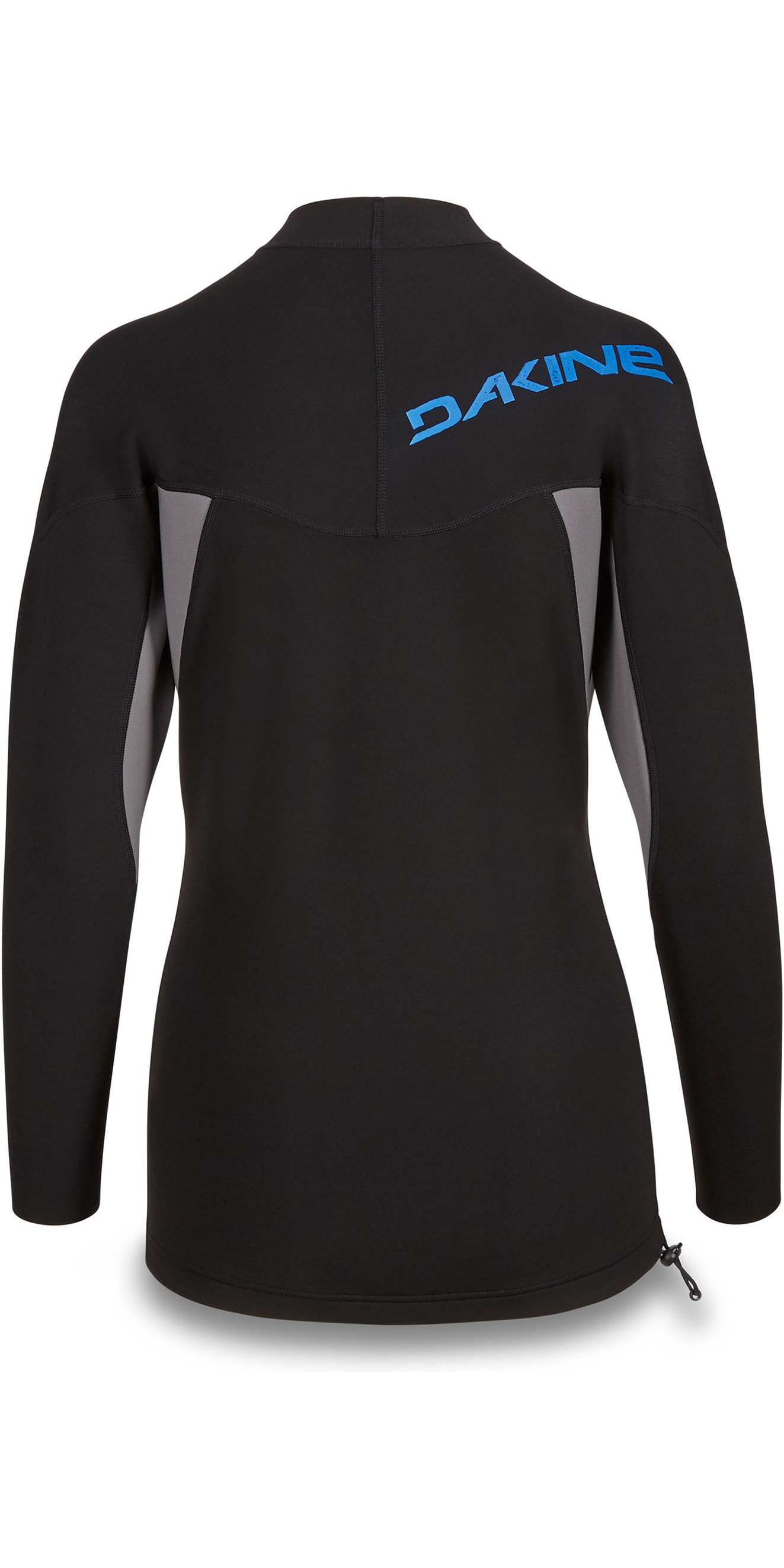 2019 Dakine Mens Long Sleeve 1mm Flatlock Neoprene Top Black 10002256