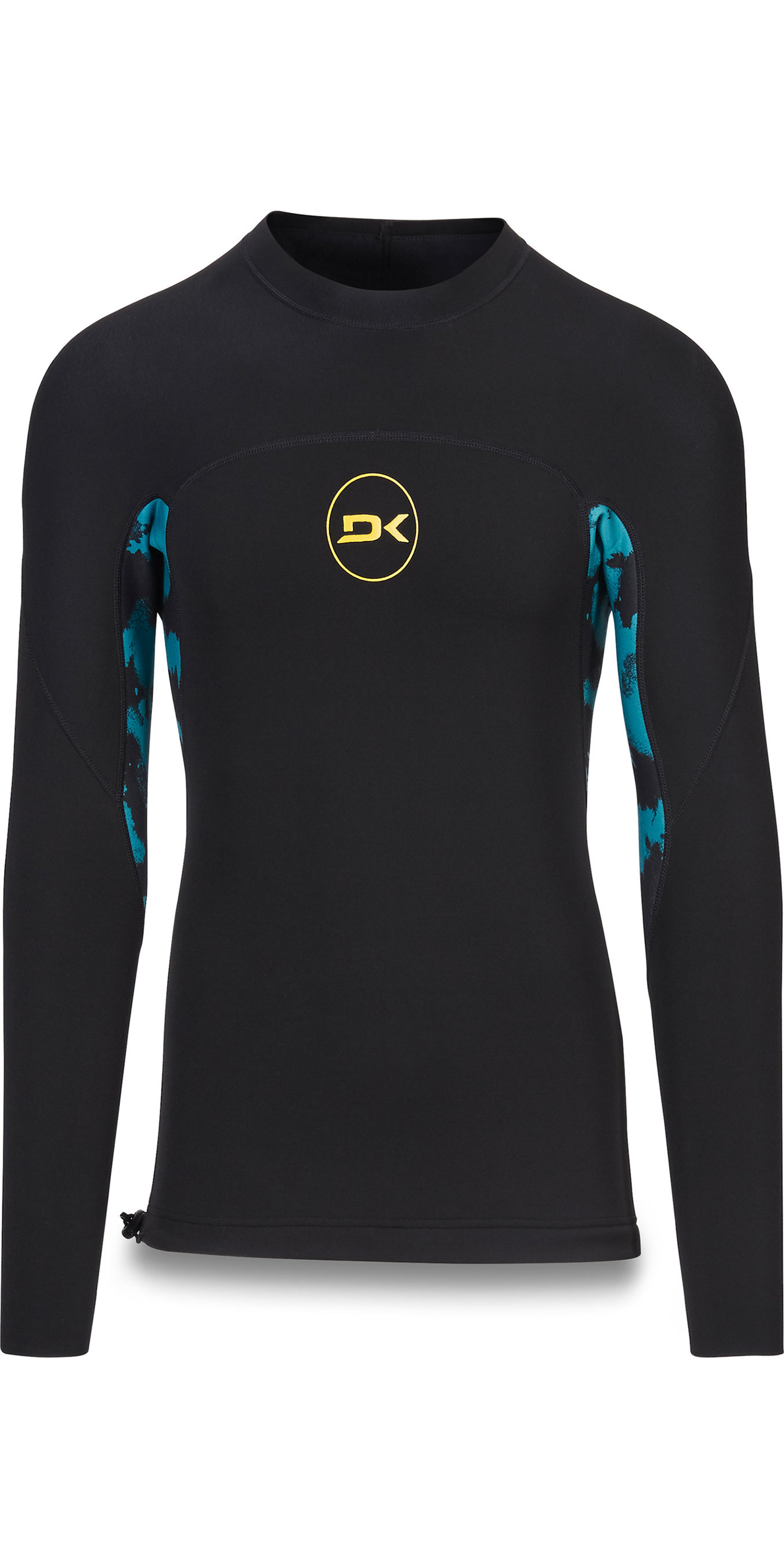 2019 Dakine Mens Long Sleeve 1mm Flatlock Neoprene Top Seaford Thrillium 10002256