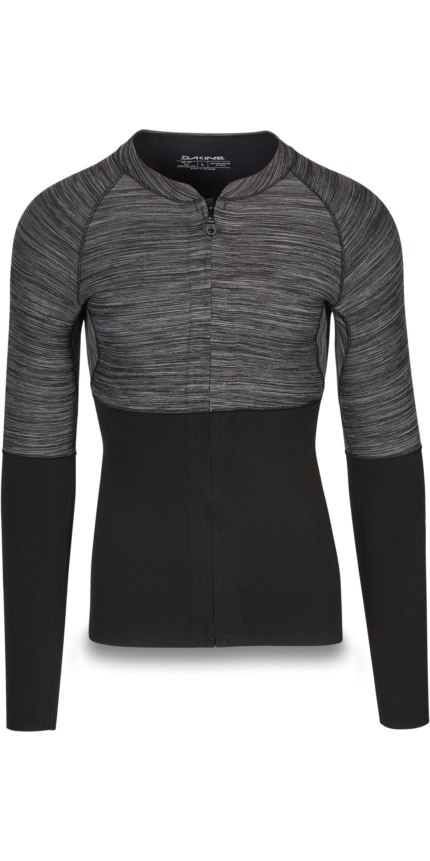 2019 Dakine Mens Long Sleeve 2mm Front Zip Neoprene Top Black 10002258