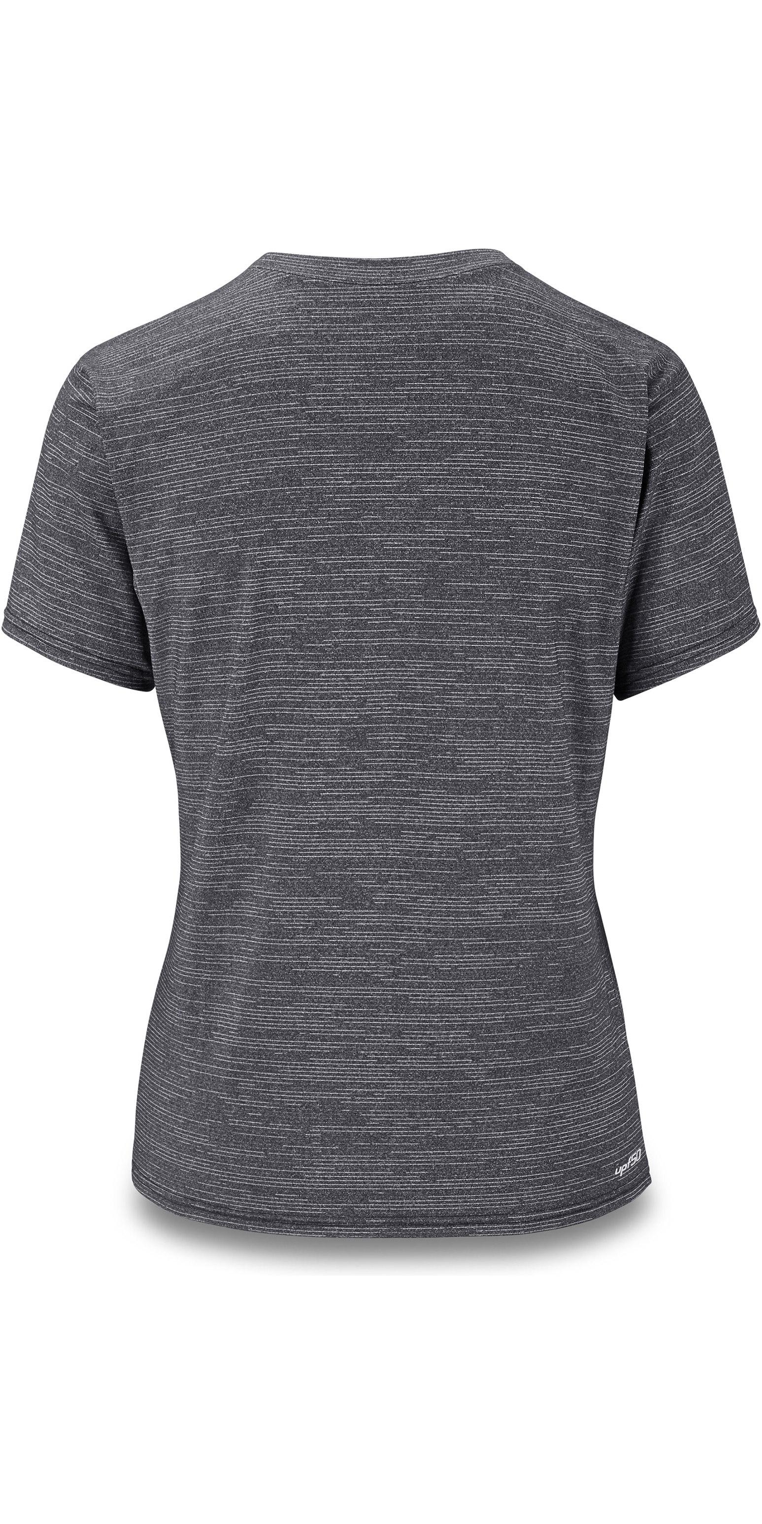 2019 Dakine Womens Dauntless Loose Fit Short Sleeve Rash Vest Black 10002327