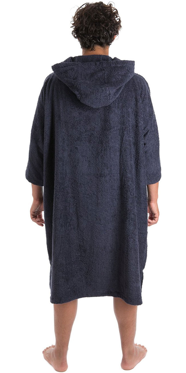 2019 Dryrobe Short Sleeve Towel Change Robe / Poncho Navy