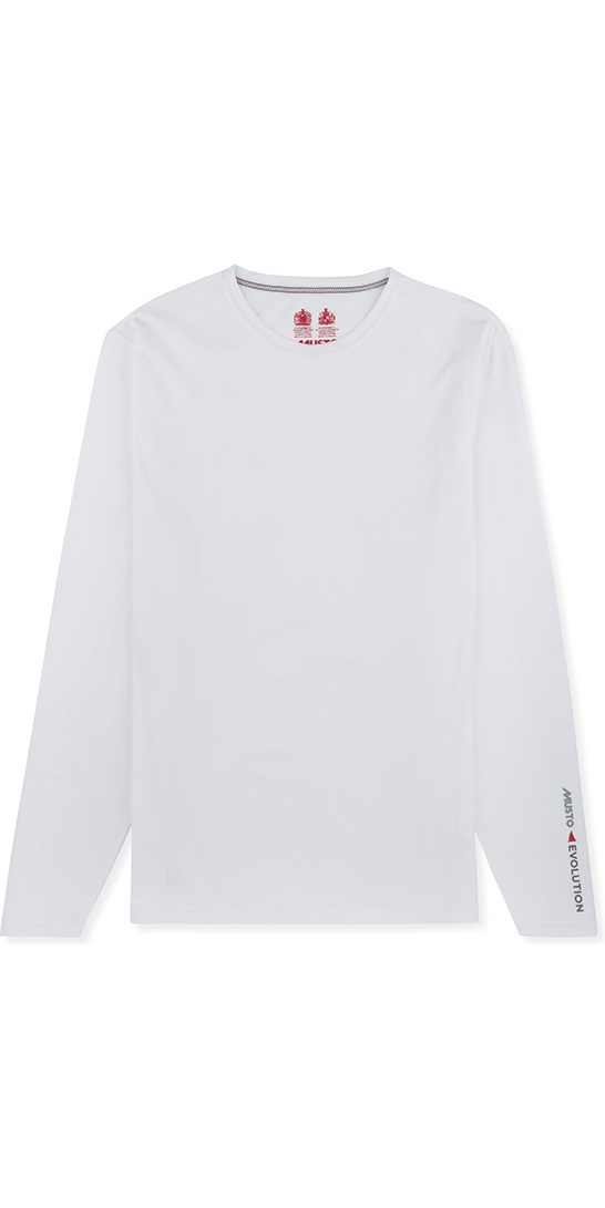 2019 Musto Evolution Sunblock Long Sleeve T-Shirt White EMTS020
